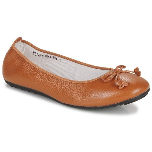 Shoes Women Ballerinas Mac Douglas ELIANE Chestnut