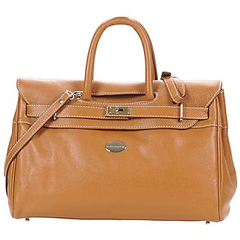 Bags Women Handbags Mac Douglas BUFFLE NICKEL PYLA S Chestnut