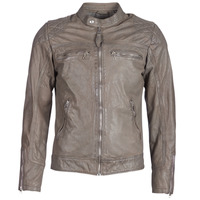 material Men Leather jackets / Imitation leather Schott SPYDER Grey