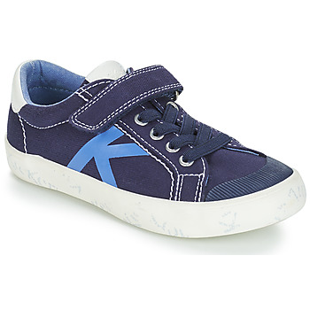 Shoes Boy Low top trainers Kickers GODY Marine