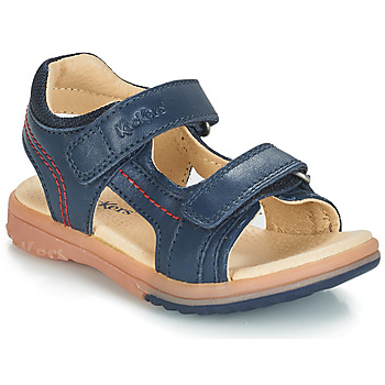 Shoes Boy Sandals Kickers PLATINO Marine