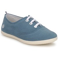 Shoes Children Low top trainers Petit Bateau KENJI GIRL Blue