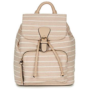 Bags Women Rucksacks André EMELINE Beige