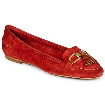 Shoes Women Loafers StylistClick NIAKO Red