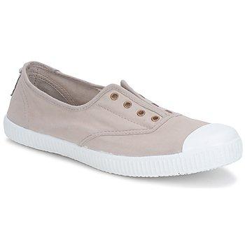 Shoes Women Low top trainers Victoria 6623 Beige