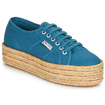 Shoes Women Low top trainers Superga 2790 COTROPE Blue