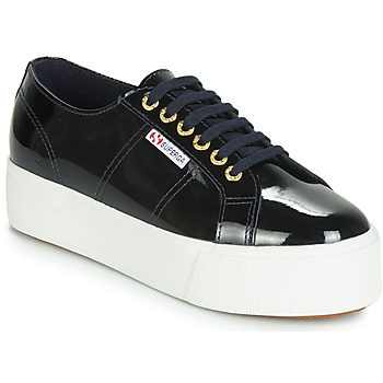 Shoes Women Low top trainers Superga 2790 LEAPATENT Marine