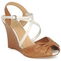 Shoes Women Sandals Paul & Joe MYRTI Camel / Ecru