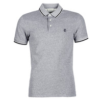 material Men short-sleeved polo shirts Selected SLHTWIST Grey