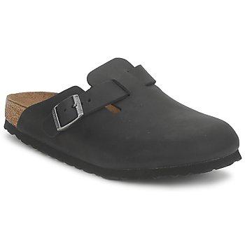 Shoes Clogs Birkenstock BOSTON PREMIUM Black