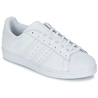 Shoes Men Low top trainers adidas Originals SUPERSTAR FOUNDATION White