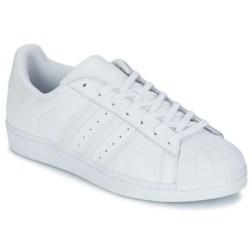 Shoes Low top trainers adidas Originals SUPERSTAR FOUNDATION White