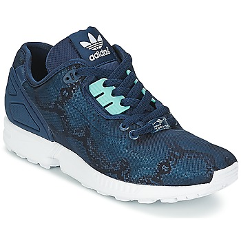 Shoes Women Low top trainers adidas Originals ZX FLUX DECON W Blue / Night