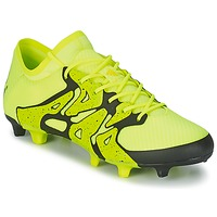 Shoes Men Football shoes adidas Originals X 15.1 FG/AG Yellow