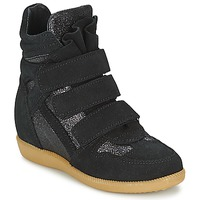 Shoes Girl High top trainers Acebo's MILLIE Black