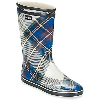 Boots Aigle MALOUINE PRINT MARINE 350x350