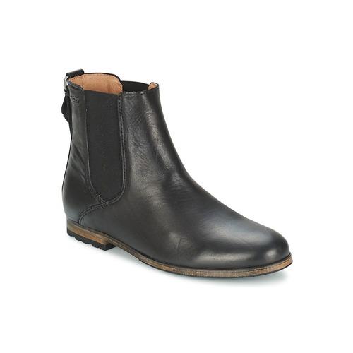 Shoes Women Mid boots Aigle MONTAIGU 2 Black