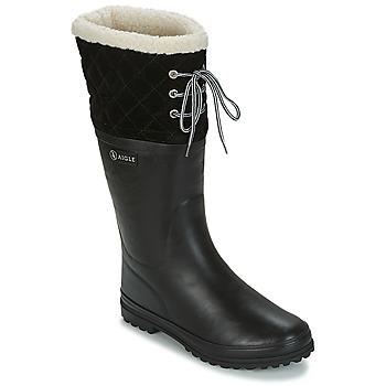 Boots Aigle POLKA GIBOULEE Black 350x350