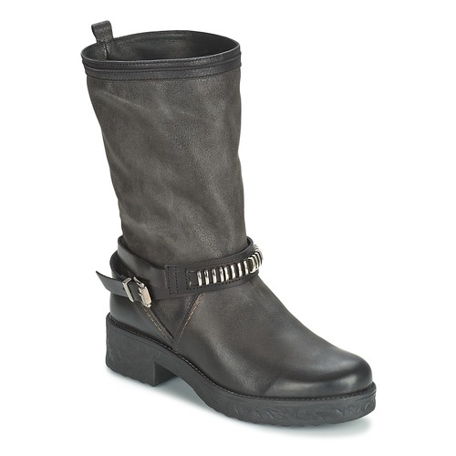 1c87ed96a38b Samoa PIOMBO Black - Fast delivery with Spartoo Europe ! - Shoes ...