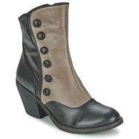 Shoes Women Ankle boots Lola Ramona GRINGO Grey