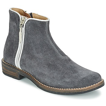 Shoes Girl Mid boots Shwik TIJUANA BIDING Grey