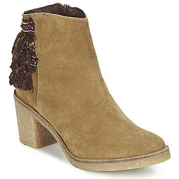 Shoes Women Ankle boots Miista BRIANNA Brown