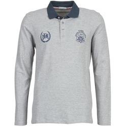 material Men long-sleeved polo shirts Best Mountain TAGOUSTI Grey
