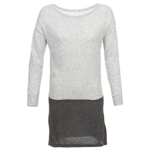 material Women Short Dresses DDP EMMI Black / Grey