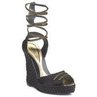 Shoes Women Sandals Azzaro Couture LUGGANO Black