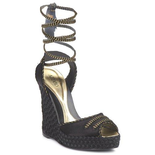 Shoes Women Sandals Azzaro LUGGANO Black