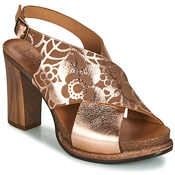 Shoes Women Sandals Felmini FLORALET Pink / Camel
