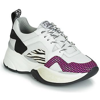 Shoes Women Low top trainers Meline ARGAGALI White / Black
