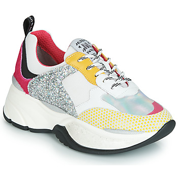 Shoes Women Low top trainers Meline PUNKY DADDY White / Pink