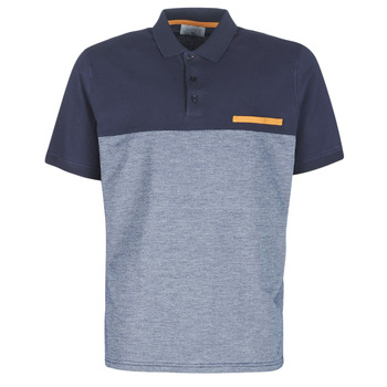 material Men short-sleeved polo shirts Casual Attitude JACOBI Marine / Grey