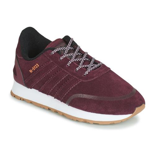 Shoes Children Low top trainers adidas Originals N-5923 C Bordeaux
