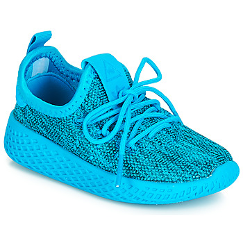 Shoes Children Low top trainers adidas Originals PW TENNIS HU I Blue