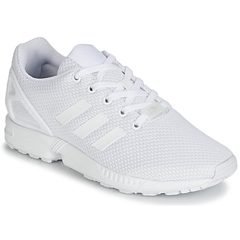 Shoes Boy Low top trainers adidas Originals ZX FLUX J White