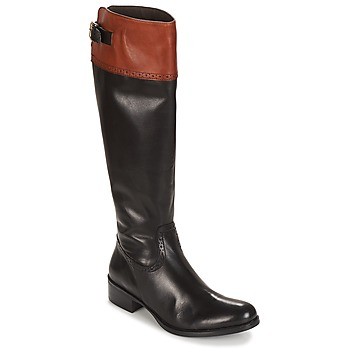 Shoes Women Boots Moda In Pelle TULSY  black