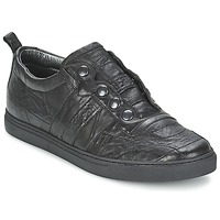 Shoes Men Low top trainers Bikkembergs SOCCER CAPSULE 522 Black