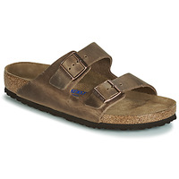 Shoes Men Mules Birkenstock ARIZONA SFB Brown