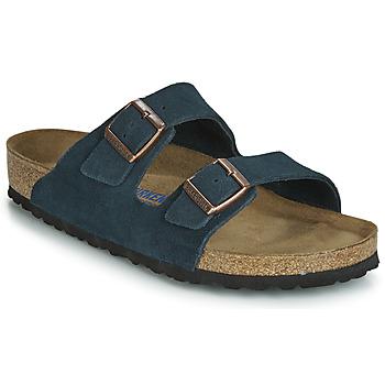 Shoes Men Mules Birkenstock ARIZONA SFB Marine