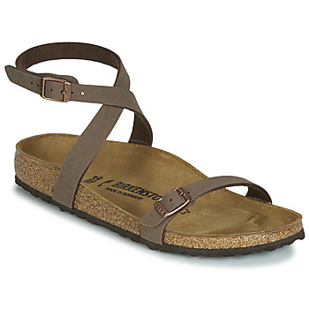 Shoes Women Sandals Birkenstock DALOA Brown