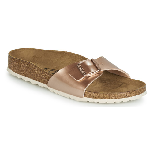 Shoes Women Mules Birkenstock MADRID Pink / Gold