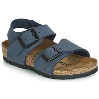 Shoes Boy Sandals Birkenstock NEW YORK Marine