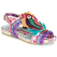Shoes Women Sandals Irregular Choice JOLI POLLY Pink