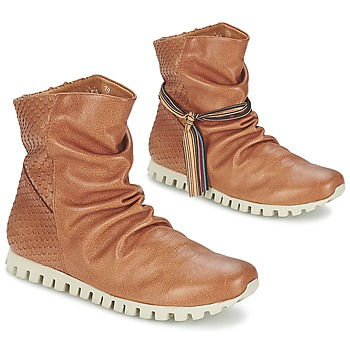 Shoes Women Mid boots Felmini COIN CAMEL