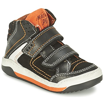 Shoes Boy High top trainers Primigi MOTT Black / Orange
