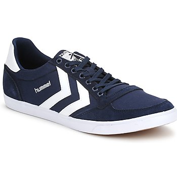 Shoes Low top trainers Hummel TEN STAR LOW CANVAS Marine