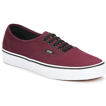 Shoes Low top trainers Vans AUTHENTIC BORDEAUX