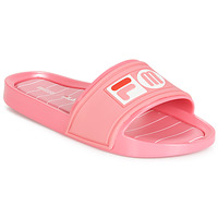 Shoes Women Tap-dancing Melissa SLIDE + FILA Pink